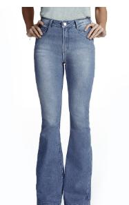 Calça cintura alta - Hering