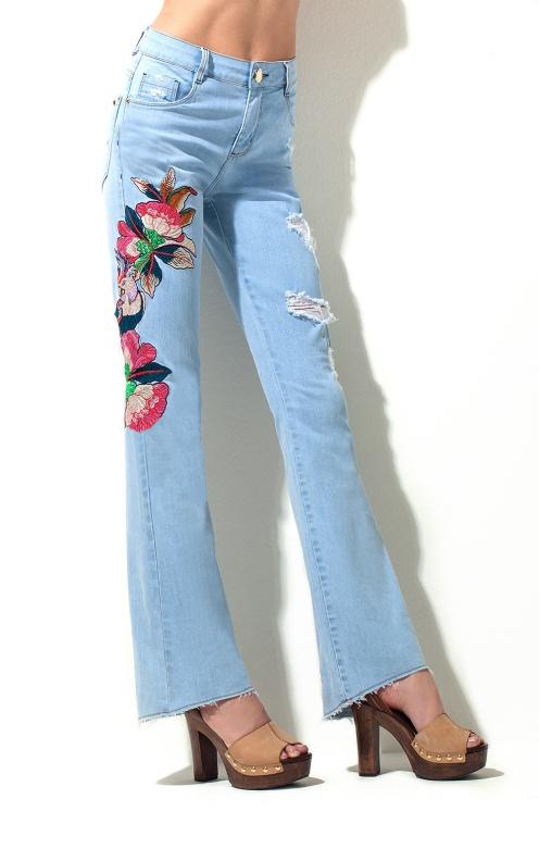 calça jeans - Morena Rosa