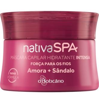 Máscara Hidratande Intensa Amora + Sândalo NativaS Spa - O Boticário