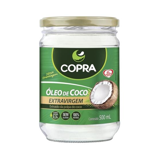 óleo de coco Copra
